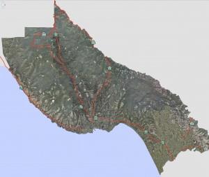 Santa Cruz Maps