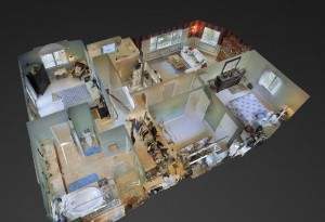 Matterport Dollhouse View
